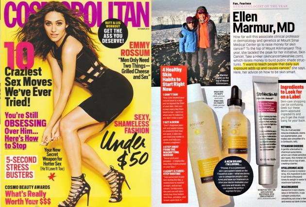 Cosmopolitan Magazine Oct 2014